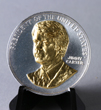 C2055JC - President Carter Gold Embossed Medallion
