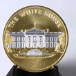 C2055WH - White House Gold Embossed Medallion