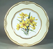"C2089MW - Flowers of the First Ladies  Collection                                          Dessert Plate ""Daffo"
