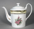 C2342ML - Flowers of the First Ladies Teapot Mary Lincoln