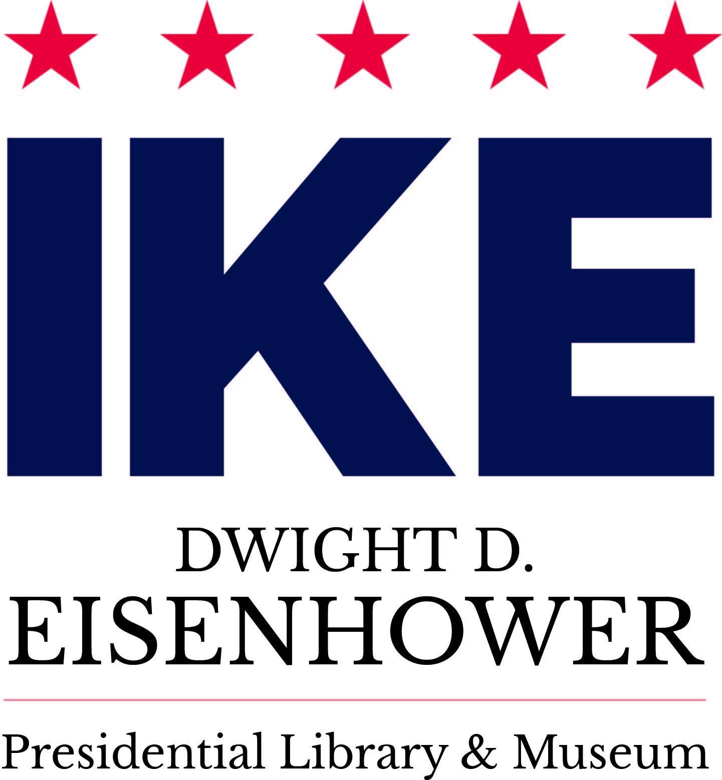 Dwight D. Eisenhower Library and Museum Logo