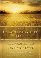 The Lessons from Life Bible Study by Jimmy Carter