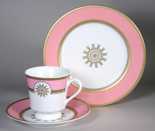 Presidential Cup and Saucer James Buchanan