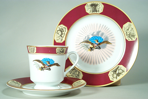 Presidential Cup and Saucer James Monroe