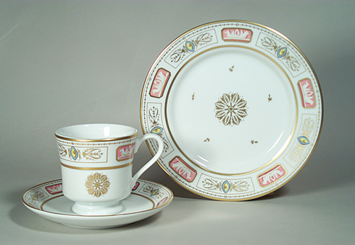 Presidential Cup and Saucer John Quincy Adams