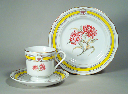 Presidential Cup and Saucer Ulysses Grant