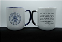 Waging Peace Coffee Mug Black