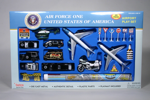 22 Piece Air Force One Playset
