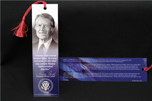 Presidential Library Bookmark