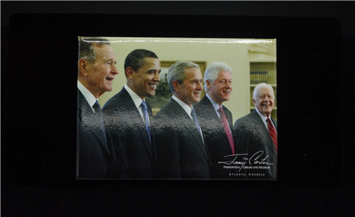 Five President Magnet