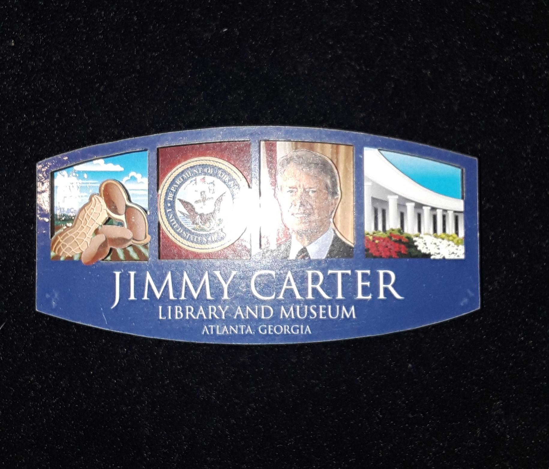 Jimmy Carter 4 Box 2-D Magnet