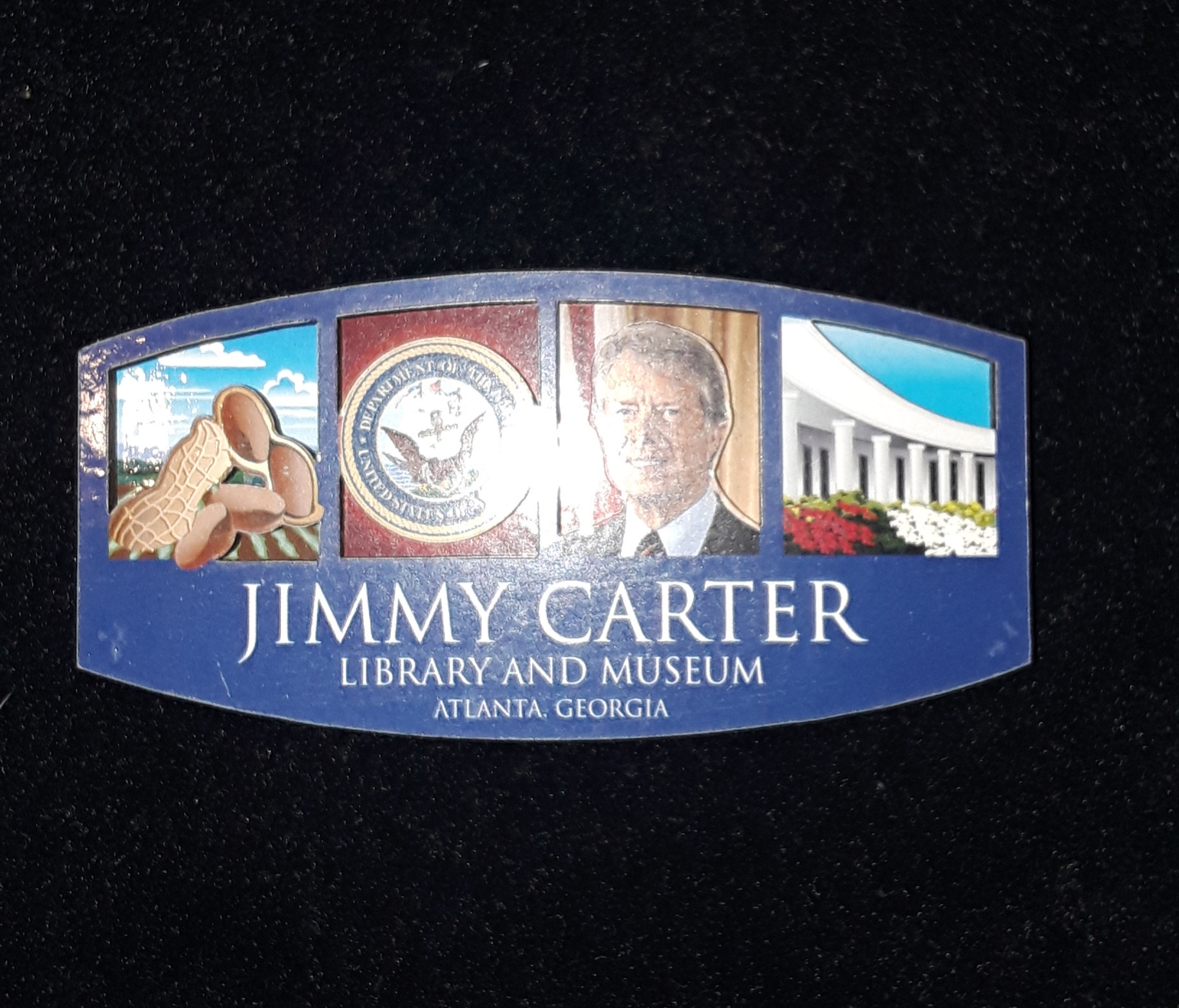 Jimmy Carter 4 Box 2-D Magnet