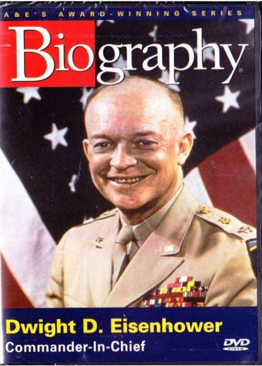 Dwignt D. Eisenhower Biography DVD