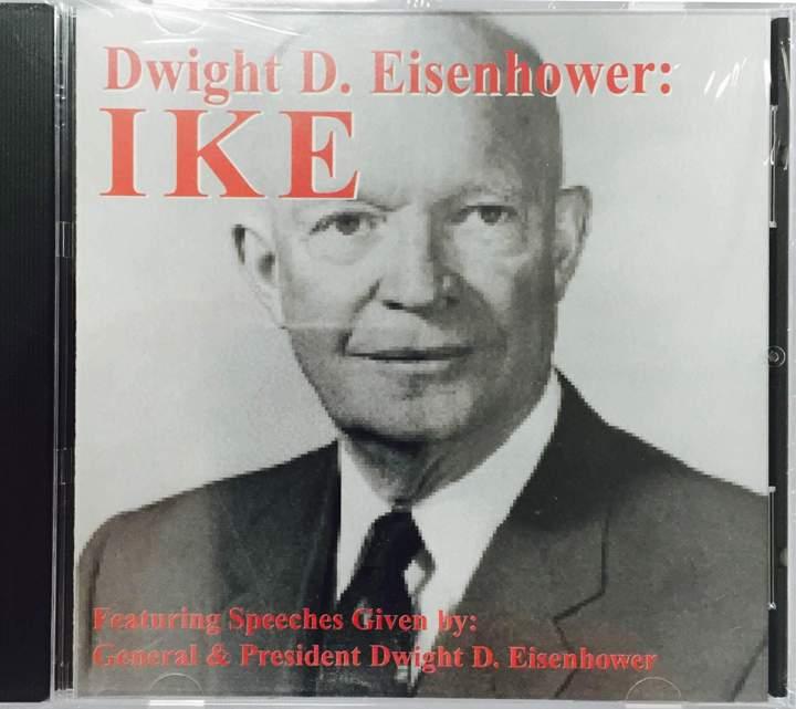 Ike's speeches- Audio CD