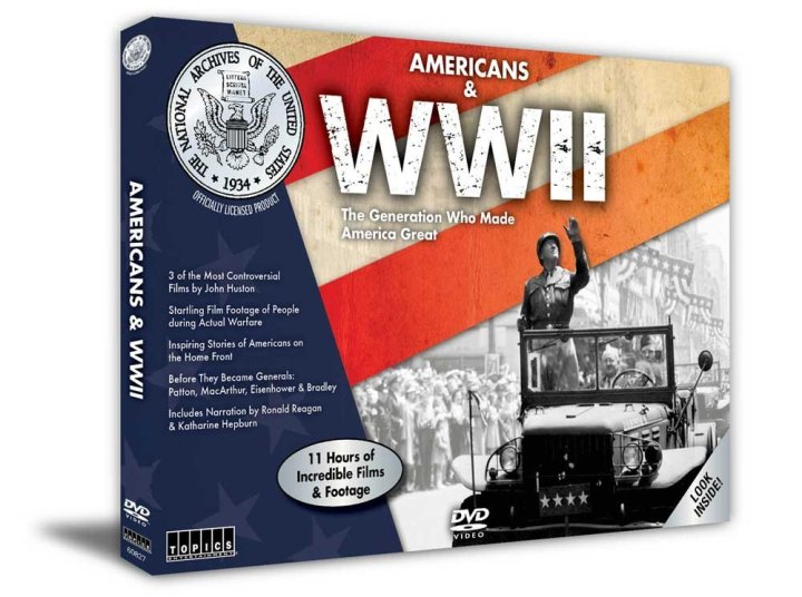 Americans & WWII DVD Set