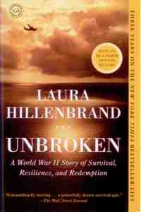 Unbroken: A WWII Story of Survival, Resilence & Redemption-PB-978-0812974492