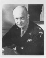 General Eisenhower B&W Photo