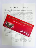 Declaration of Independence-Packet