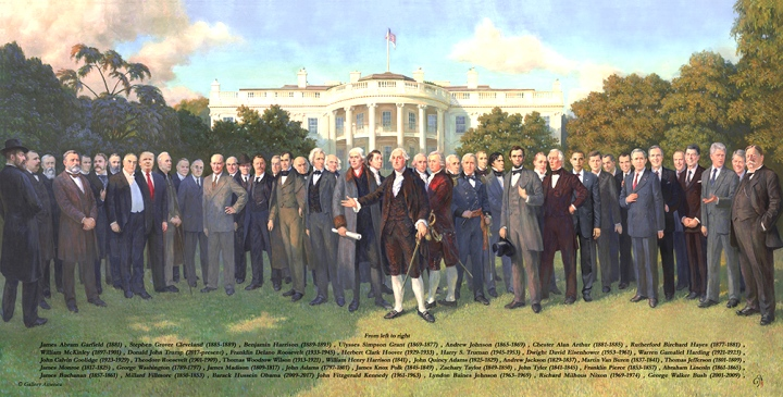 Presidents Painting