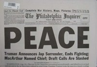 Newspaper-Peace