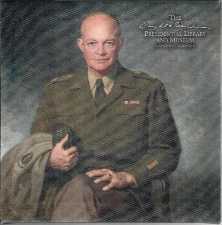 General Ike Portrait on Canvas