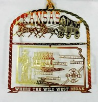 Wild West Ornament
