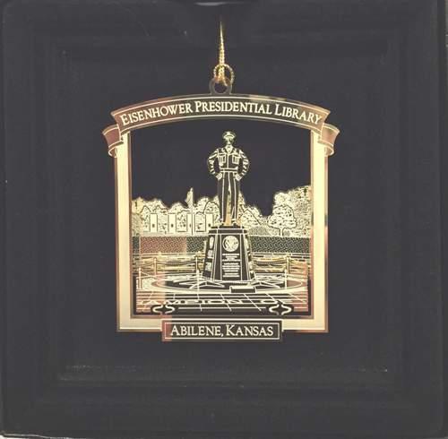 Eisenhower Statue Ornament