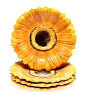 3-D Sunflower Candy Plate