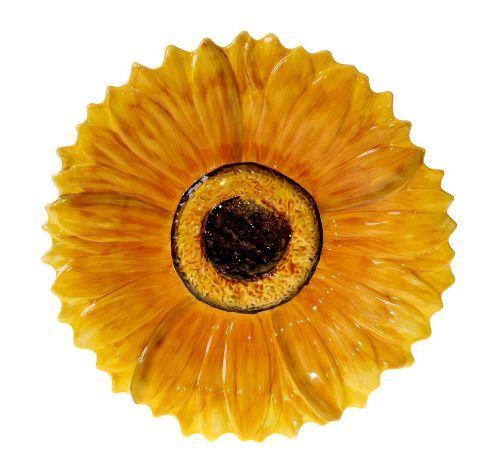 Platter 3-D Sunflower