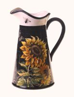 French Sunflower Pitcher 2.75 Qt