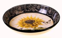 French Sunflower Serving/Pasta Bowl
