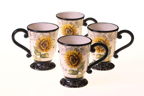 French Sunflower Mug