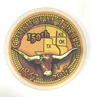 Chisholm Trail Stoneware Coasters