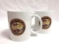 Chisholm Trail White Ceramic Mug