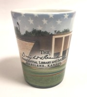 Eisenhower Library Shot Glass