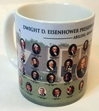 Eisenhower Presidents Mug