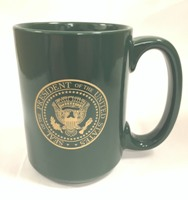 Dark Green Mug w\Presidential Seal