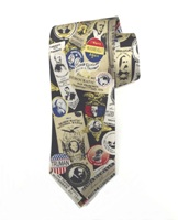 Tie, Democratic Campaign Button