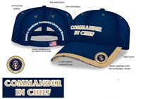 Commander in Chief Cap