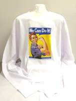 Shirt, Rosie the Riveter Long Sleeve -Small