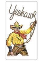 Yeehaw Cowboy Towel