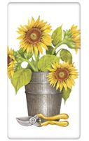 Sunflower Bucket Towel