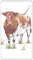 Longhorn Cow Towel