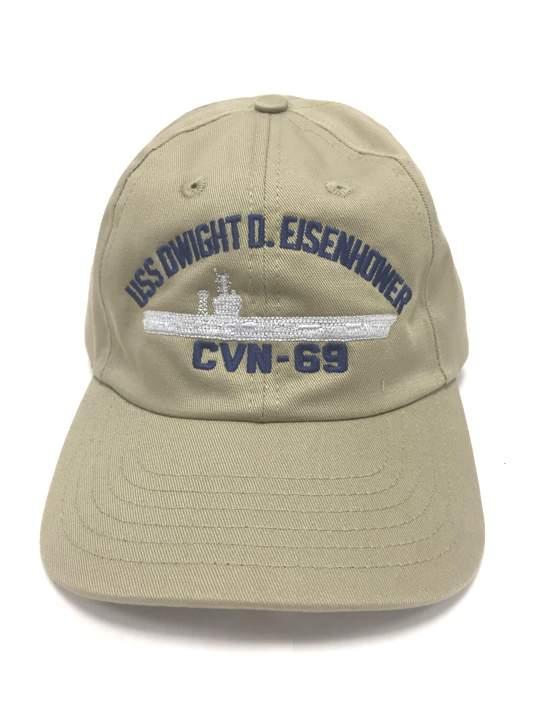 USS Eisenhower Cap Khaki