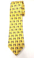Elephant Donkey Boxing Neck Tie