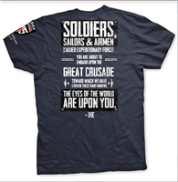 DDAY SPEECH TSHIRT SMALL