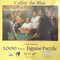 Puzzle Callin' the Blue Puzzle, 1000 piece