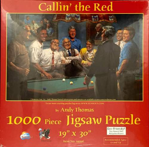 Puzzle Callin' the Red Puzzle, 1000 piece
