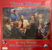 True Blues Puzzle, 500 Pieces