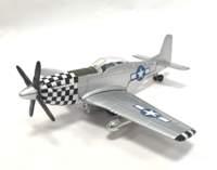 P-51 Mustang pullback model